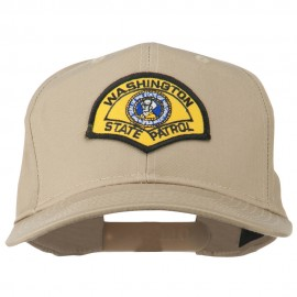 Washington State Patrol Patched Cap