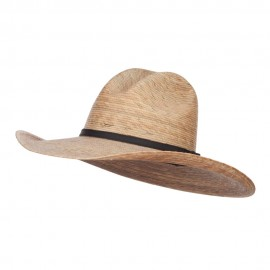 Palm Braid Ranchero Cowboy Hat - Dk Palm