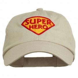 Halloween Super Hero Embroidered Low Profile Cap