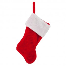 Plush Christmas Stocking