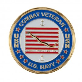 Proud To Be U.S. Navy Coin