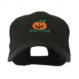 Trick or Treat with Pumpkin Embroidered Cap
