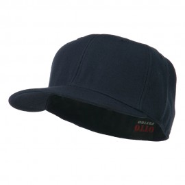 Pro Style Wool Fitted Cap - Navy