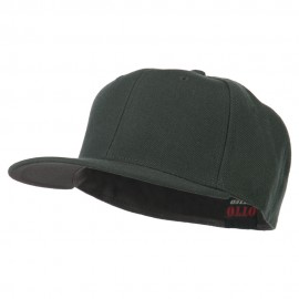 Pro Style Wool Fitted Cap - Charcoal