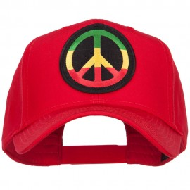 Peace RGY Rasta Patched Cap