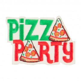 Pizza Party Patches