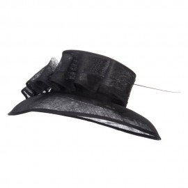 Quil Trimming Fashion Sinamay Hat