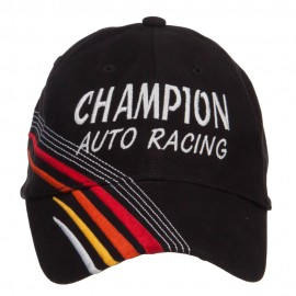 Champion Auto Racing Embroidered Deluxe Cap