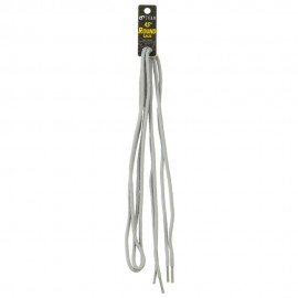 Round Shoe Laces 45 Inches - Light Grey