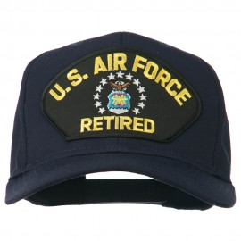US Air Force Retired Military Patched Cap - Navy