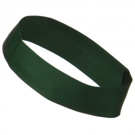 2 inch Removable Chino Twill Hat Band - Dark Green