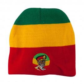 Rasta Captain Embroidered Beanie