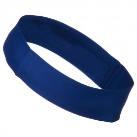 2 inch Removable Chino Twill Hat Band - Royal
