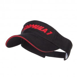 Racing Formula 1 Embroidered Sandwich Visor