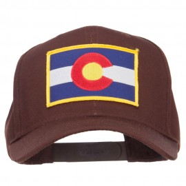 Colorado State Flag Patched Cap