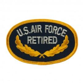 Retired Embroidered Military Patch - Air Force