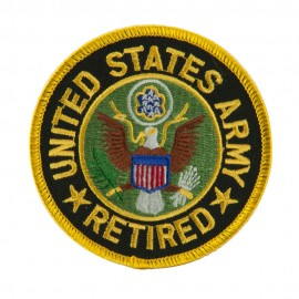 Retired Embroidered Military Patch