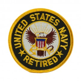 Retired Embroidered Military Patch - US Navy