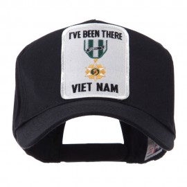 Retired Embroidered Military Patch Cap