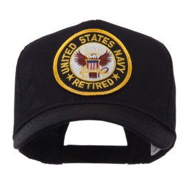 Retired Embroidered Military Patch Cap - US Navy