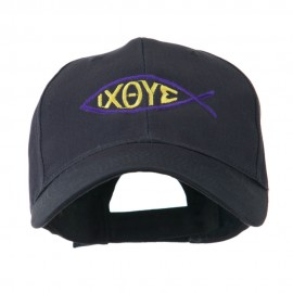 Religious Symbol of Christ Embroidered Cap