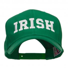 Irish Embroidered High Profile Cap