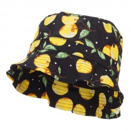Women's Fruit Motif Bucket Hat