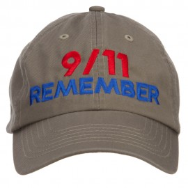 911 Remembered Embroidered Low Profile Cap