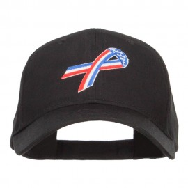 Awareness Ribbon Patched Low Profile Cap
