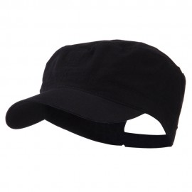 Big Size Adjustable Cotton Ripstop Army Cap