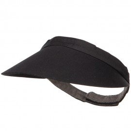 Cotton Twill Adjustable Visor