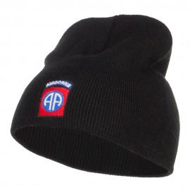 82nd Airborne Embroidered Short Beanie