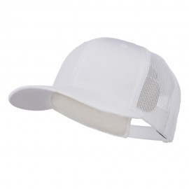 Retro Trucker Cap - White