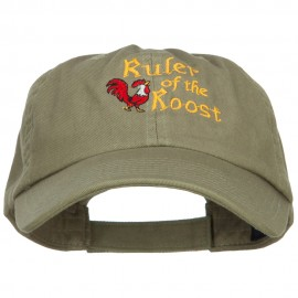 Ruler of the Roost Embroidered Low Cap