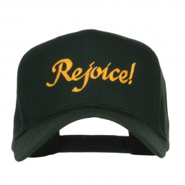 Rejoice Embroidered High Profile Cap