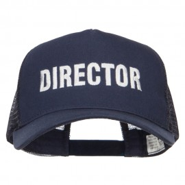 Director Embroidered Big Size Trucker Cap