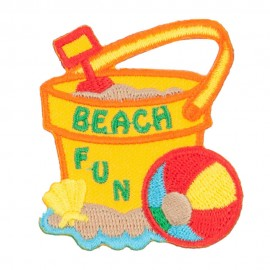 Summer Beach Fun Patches