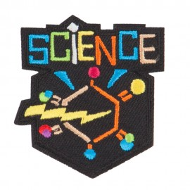 Science Embroidered Patches