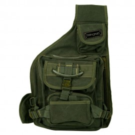 String Canvas Backpack - Olive