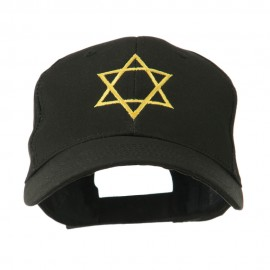 Star of David for Holiday Embroidered Cap