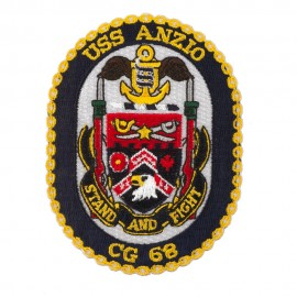 Scalloped Edge USS Patches