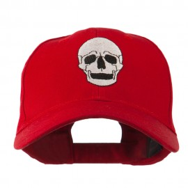 Halloween Skeleton Skull Embroidered Cap
