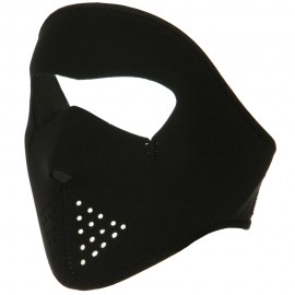 Smaller Face Full Mask - Solid Black