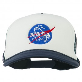 NASA Insignia Embroidered Foam Mesh Cap