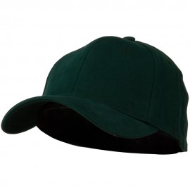 Stretch Heavy Weight Brushed Cotton Fitted Cap - Forest
