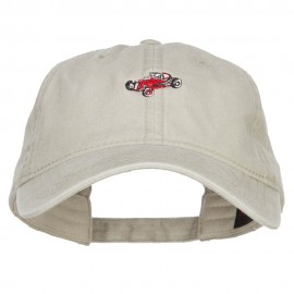 Mini Classic Car Embroidered Washed Cap
