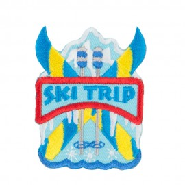 Ski Trip Embroidered Patches