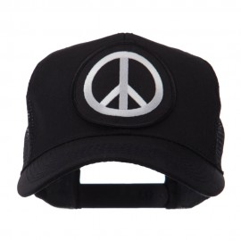 Skull and Choppers Embroidered Military Patched Mesh Cap - Peace