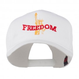 Statue of Liberty Freedom Embroidered Cap