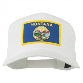 Montana State High Profile Patch Cap